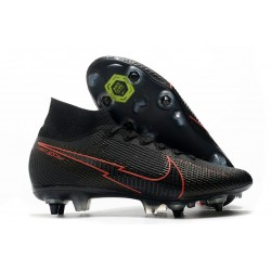 Nike Mercurial Superfly 7 Elite SG-Pro AC Nero Rosso