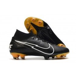 Nike Mercurial Superfly VII Elite 360 FG ACC Nero Bianco
