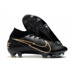 Nike Mercurial Superfly VII Elite 360 FG ACC Nero Oro