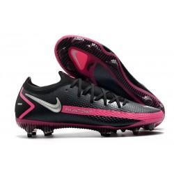 Scarpa Nouvo 2021 Nike Phantom GT Elite FG Nero Argento Rosa Blast