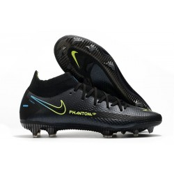 Scarpe Calcio Nike Phantom Gt Elite Dynamic Fit Fg Nero Verde