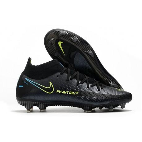 Scarpe Calcio Nike Phantom Gt Elite Dynamic Fit Fg Nero Verde