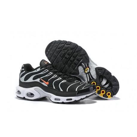 Nike Air Max Plus Sneakers Basse da Uomo - Bianco Nero