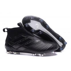 Scarpa da Calcio Nuove Adidas ACE 17+ PureControl FG - Tutto Nero