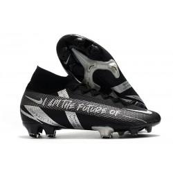 Nike Mercurial Superfly 7 Elite DF FG Future Nero Argento