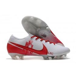 Scarpa Nike Mercurial Vapor 13 Elite FG LFC Bianco Rosso