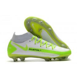 Nike Phantom Gt Elite DF FG Uomo Bianco Verde
