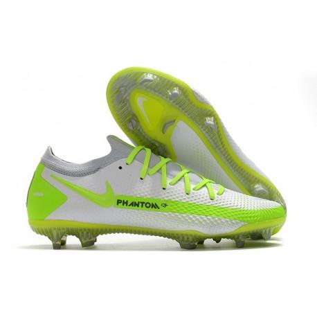 Nike Scarpe da Calcio Phantom GT Elite FG Bianco Verde