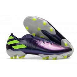 Scarpe Da Calcio adidas Nemeziz 19.1 FG - Viola Verde