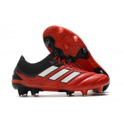 Scarpa Nuovo adidas Copa 20.1 FG - Nero Bianco Rojo