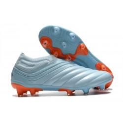 adidas Scarpe Calcio Copa 20+ FG Cielo Blu Team Royal Corallo Signal