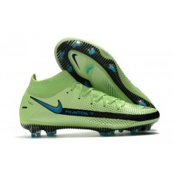Nike Phantom Gt Elite DF FG Uomo Verde Nero Blu