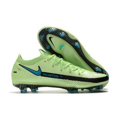 Nike Scarpe da Calcio Phantom GT Elite FG Bianco Blu Nero