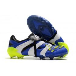 Scarpe adidas Predator Accelerator FG - Blu Bianco Giallo