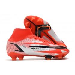 Nike Mercurial Superfly 8 Elite FG CR7 Rosso Cile Nero Ghost Arancione Total