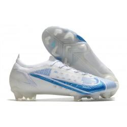 Nike Mercurial Vapor 14 Elite FG Bianco Blu