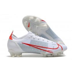 Nike Mercurial Vapor 14 Elite FG Bianco Rosso
