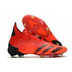 Scarpe adidas Predator Freak+ FG Rosso Nero Core Rosso Solare
