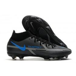 Nike Phantom Gt 2 Elite DF FG Nero Grigio Ferro