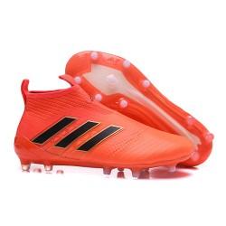 Scarpa da Calcio adidas Ace 17+ Pure Control FG Uomo - Arancio Nero
