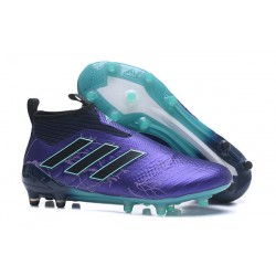 Scarpa da Calcio adidas Ace 17+ Pure Control FG Uomo - Viola Nero