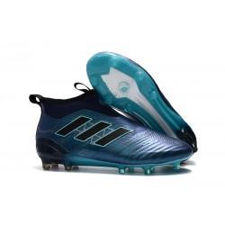 Scarpa da Calcio adidas Ace 17+ Pure Control FG Uomo - Blu Nero