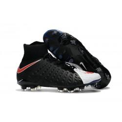 Nike Neymar Scarpini da Calcio Hypervenom Phantom 3 DF FG - Nero Bianco Rosso