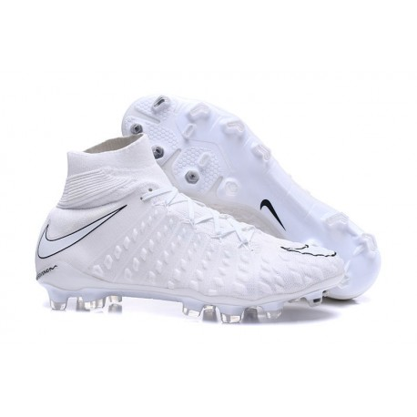 new products f54f5 11e4d Nike Hypervenom Phantom III DYNAMIC FIT FG Scarpe -Bianco