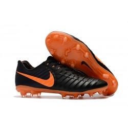 Nike Tiempo Legend VII FG Scarpe da Calcio Canguro - Nero Arancio