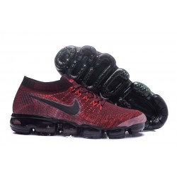 Nike 2018 Air Vapormax Flyknit Scarpe Rosso Nero