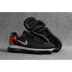 Nike Scarpe Air VaporMax Flyknit Uomo - Nero Grigio
