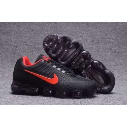 Nike AIR VAPORMAX FLYKNIT - Scarpe running neutre - Nero Rosso