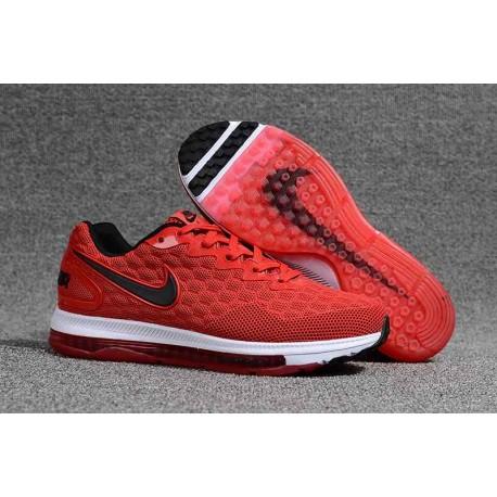 Nike Air Zoom Scarpe Uomo - Rosso Nero