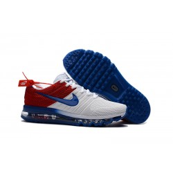 Nike Air Max 2017 Scarpa Uomo - Bianco Blu Rosso