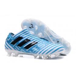adidas Nemeziz Messi 17+ 360 Agility FG Scarpe da Calcio - Blu Nero