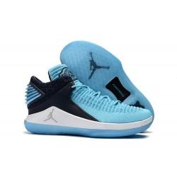 Nike Air Jordan 32 Mid Scarpe da Basket Uomo - Blu Nero
