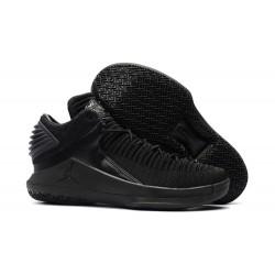 Nike Air Jordan 32 Mid Scarpe da Basket Uomo - Tutto Nero