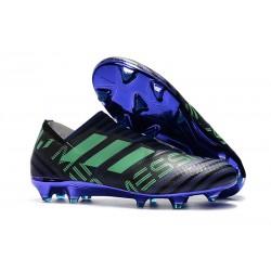 Scarpa adidas Nemeziz Leo Messi 17+ 360 Agility FG - Nero Viola Verde