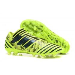 Scarpa adidas Nemeziz Leo Messi 17+ 360 Agility FG - Verde Nero