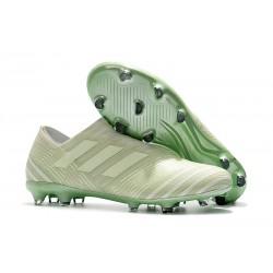 Scarpa adidas Nemeziz Leo Messi 17+ 360 Agility FG - Verde Bianco
