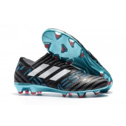 Scarpa adidas Nemeziz Leo Messi 17+ 360 Agility FG - Nero Blu Bianco