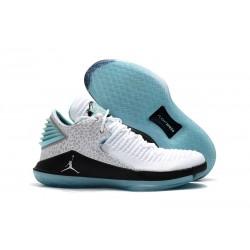 Nike Air Jordan 32 Mid Scarpe da Basket Uomo - Bianco Blu