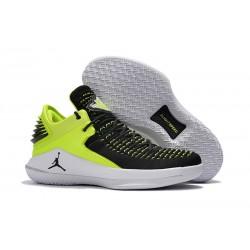 Nike Air Jordan 32 Mid Scarpe da Basket Uomo - Nero Verde