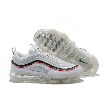 Nike Scarpa Air VaporMax 97 Undefeated - Bianco
