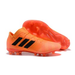 adidas Coppa del Mondo Messi Nemeziz 18.1 FG - Arancio Nero