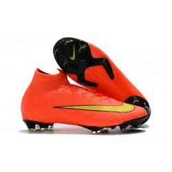 Nike Mercurial Superfly 6 Elite FG 2018 Scarpe da Calcio - Arancio Giallo