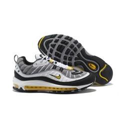 Supreme x NikeLab Air Max 98 Sneakers Basse da Uomo - Grigio Bianco