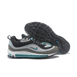 Supreme x NikeLab Air Max 98 Sneakers Basse da Uomo - Grigio Nero