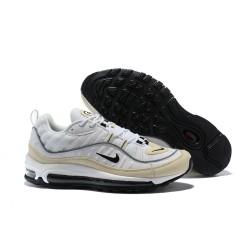 Supreme x NikeLab Air Max 98 Sneakers Basse da Uomo -Bianco