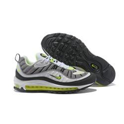 Supreme x NikeLab Air Max 98 Sneakers Basse da Uomo - Grigio Bianco Verde